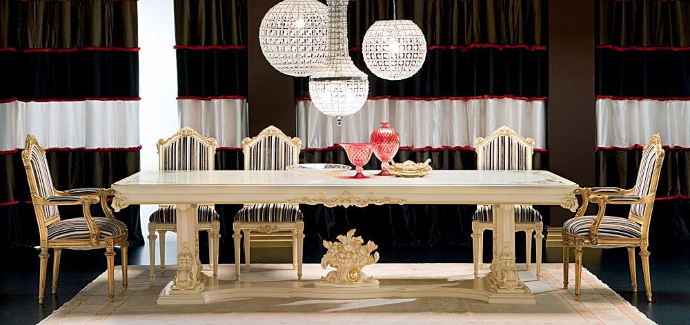 Стол обеденный Talia 9936 Silik