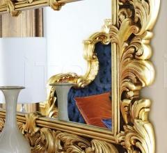 Итальянские настенные зеркала - Настенное зеркало Aura 7774 фабрика Silik