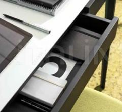 Итальянские письменные столы - Письменный стол Saffo cuoio фабрика Porada