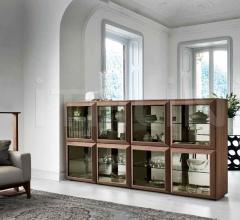 Итальянские стеллажи - Модульный стеллаж Kvadro фабрика Porada