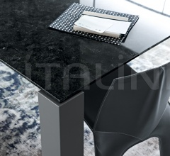 Стол обеденный Dolmen Due TDD150 фабрика Poliform