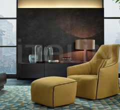 Кресло Santa Monica Lounge фабрика Poliform
