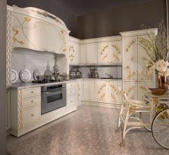 Итальянские угловые кухни - Кухня Ninfea фабрика Medea