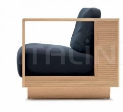 Кресло poltrona фабрика Ceccotti Collezioni
