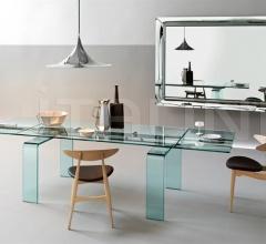 Раздвижной стол gauss фабрика Fiam