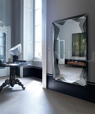 Настенное зеркало gallery circle Fiam