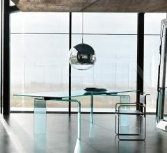 Раздвижной стол ray plus фабрика Fiam