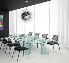 Итальянские столы для конференц зала - Стол luxor фабрика Fiam
