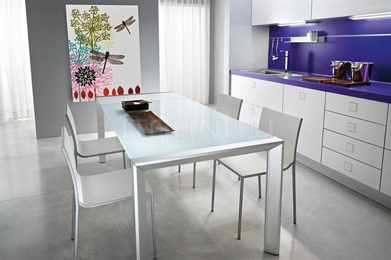 Раздвижной стол afill alluminio Fiam