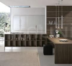 Кухня Atelier Gola Vetro фабрика Aster Cucine