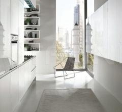 Итальянские угловые кухни - Кухня Atelier Hook фабрика Aster Cucine