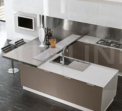 Кухня Atelier Vetro фабрика Aster Cucine