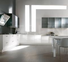 Итальянские угловые кухни - Кухня Atelier Polymeric фабрика Aster Cucine