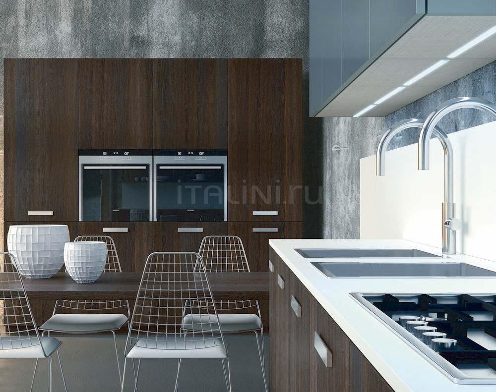 Кухня Noblesse Oblige Rovere Termotrattato Aster Cucine