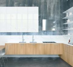 Итальянские угловые кухни - Кухня Noblesse Oblige Altre Essenze фабрика Aster Cucine