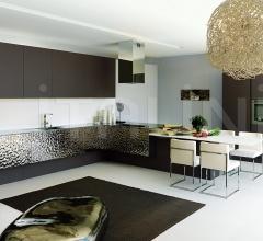 Кухня Contempora Acciaio фабрика Aster Cucine