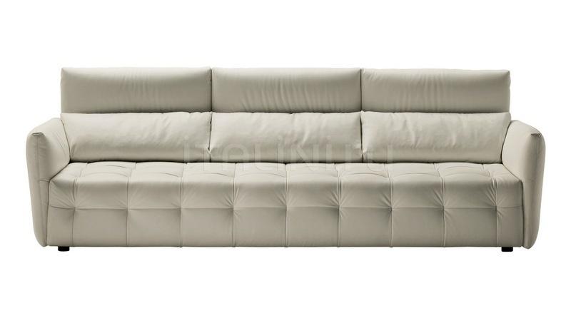 Трехместный диван Duvet Poltrona Frau