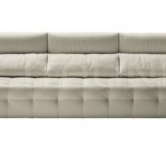 Трехместный диван Duvet фабрика Poltrona Frau