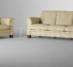 Трехместный диван Austen фабрика Poltrona Frau