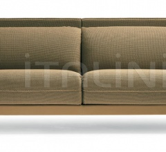 Двухместный диван Alone фабрика Poltrona Frau