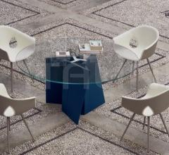 Круглый стол Palio фабрика Poltrona Frau