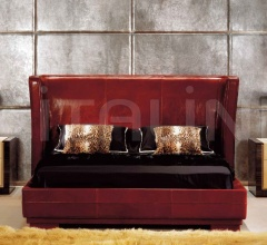 Кровать Savoy Pelle фабрика Ulivi Salotti