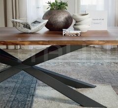 Стол обеденный Spyder Wood фабрика Cattelan Italia