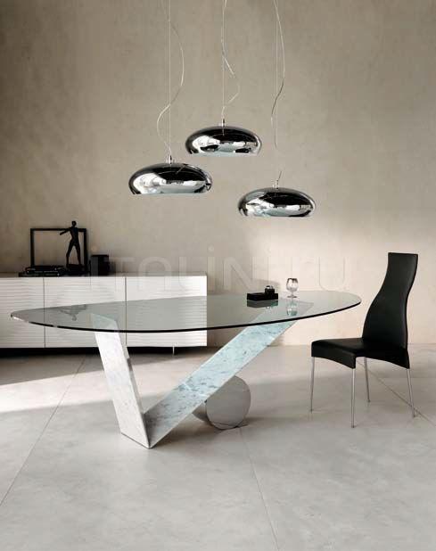 Стол обеденный Valentino marble Cattelan Italia