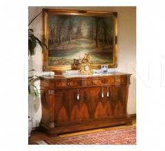 Sideboard in wood Halls  - 99 NOCE / 3 doors sideboard