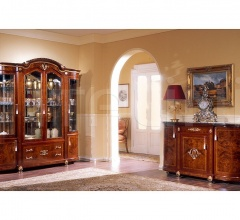 Luxury showcases Living room furniture  - DUCALE DUCSO4PB / Display cabinet with 4 doors B
