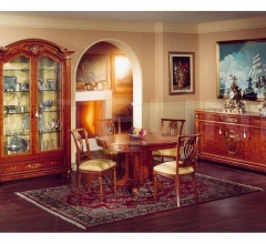 Showcases with wooden structure Dining room  - DUCALE DUCVE2P / Display cabinet with 2 doors