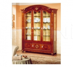 Luxury showcase Antique art gallery  - DUCALE DUCVE3P / Display cabinet with 3 doors