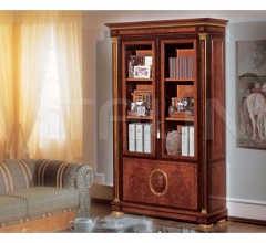 Luxury bookcase Living room  - IMPERO / Bookcase with 2 doors