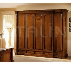 Worked wardrobe Bed zone  - REGINA NOCE / Wardrobe 5 doors