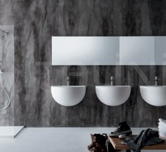 Wall-mounted washbasins