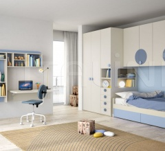 Bedroom with overbed unit 19