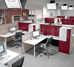 Office solution with Anyware and Te partitions.