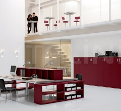 Example of flexible and modular office with Han.
