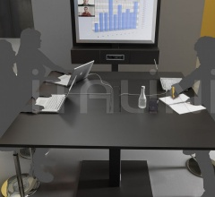 Project areas for presentations and video conferencing.