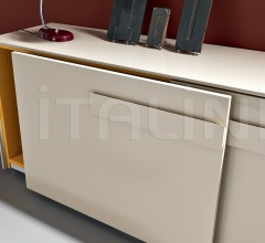 Pull out sliding doors cabinet