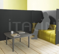Low table with turned legs.