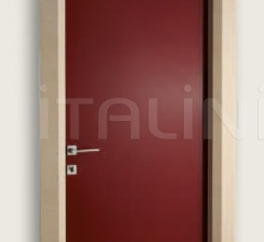 Giudetto LAC 1011/QQ Gloss brush lacquered RAL 3005. Modern Interior Doors