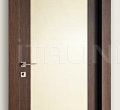 Mart Stam 1913/QQ/PL Wenge brush stained oak RAL 1013 glossy lacquered panel. Modern Interior Doors
