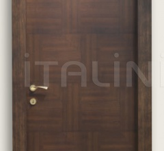 Giudetto Patch 1011/QQ/PW2 Tobacco patchwork finish ash (type 2). Modern Interior Doors