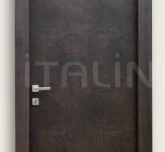 Giudetto Patch 1011/QQ/PW2 Anthracite patchwork finish olive (type 2). Modern Interior Doors