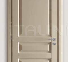 KORINTHOS 1396/QQ 1850 glossy dove gray 100 gloss lacquered casing with cyma korintos Modern Interior Doors