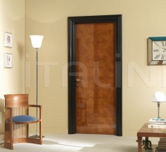 GORKY PARK 901/QQ Polished cherry Cover moulding Black lacquered Park Modern Interior Doors
