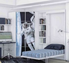 VERTICAL SINGLE BED
