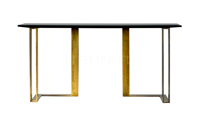 Консоль Black and Gold console Paolo Castelli