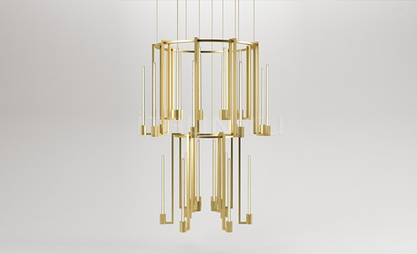 Люстра KALI chandelier Paolo Castelli